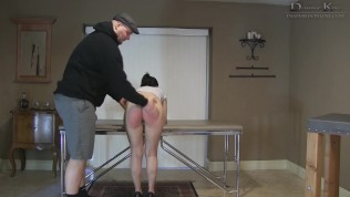Audrey Spanked and Diapered by Dominic King – ABDL