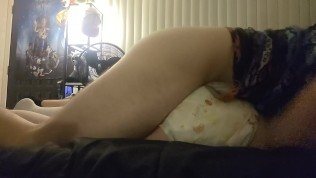Daddy & Little Having Diapered Sex