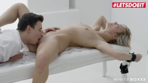 LETSDOEIT – Kinky Teeny Makes Stepbrother Crazy For Her Pussy