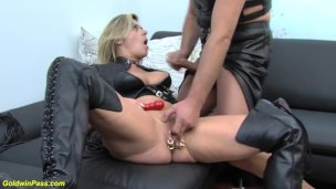 extreme labia pierced milf rough fisted